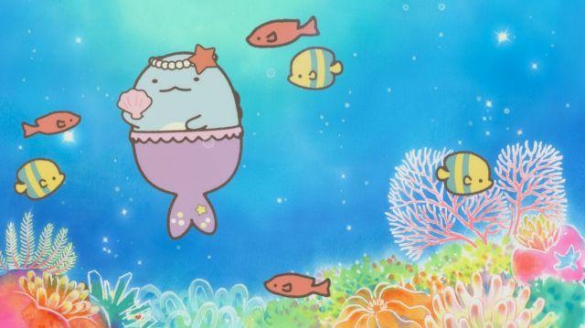 人魚になったとかげ(とかげ魚?)
