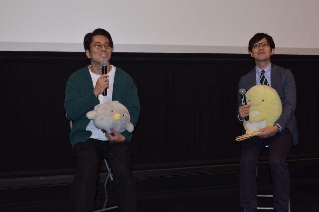 楽しげに話をする角田貴志さん(左)