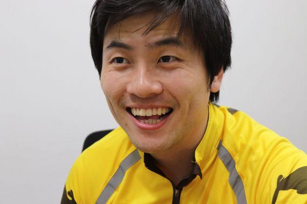 笑顔の久保田嶺さん。27才。