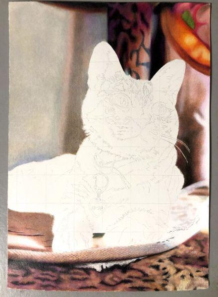 「長靴をはいた猫」のアカウントで発表した作品