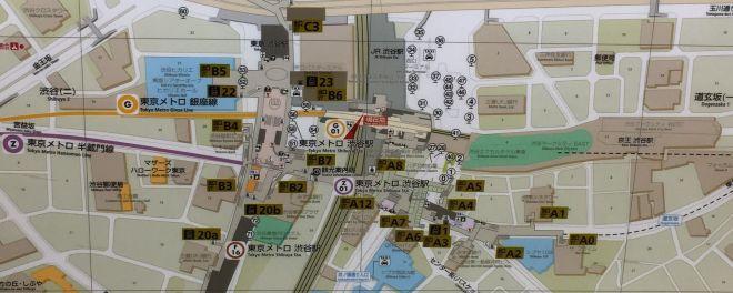 地図に「スクランブルスクエア」はなし