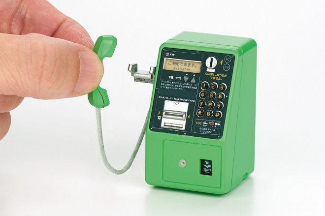 「NTT東日本 公衆電話ガチャコレクション」。ラインナップは全6種類です
