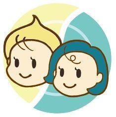 ストップ・マヨハラ党のロゴ。同じ皿の上に分マヨが徹底され、マヨネーズも苦手な人も同じ方向を向いている=戸澤遥さん提供