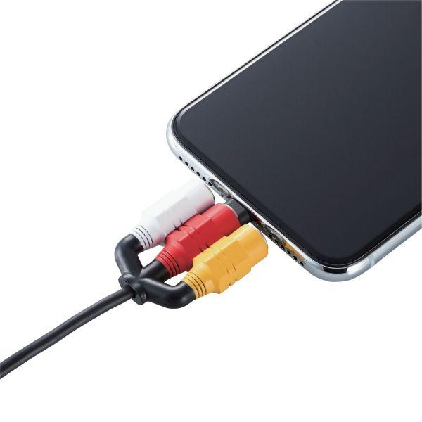 充電ケーブルがビデオケーブルのような見た目になるアクセサリ