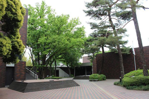 埼玉県立歴史と民俗の博物館の外観