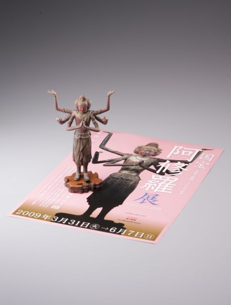2009年に開催された「国宝 阿修羅展」を記念して製作された(提供=海洋堂)