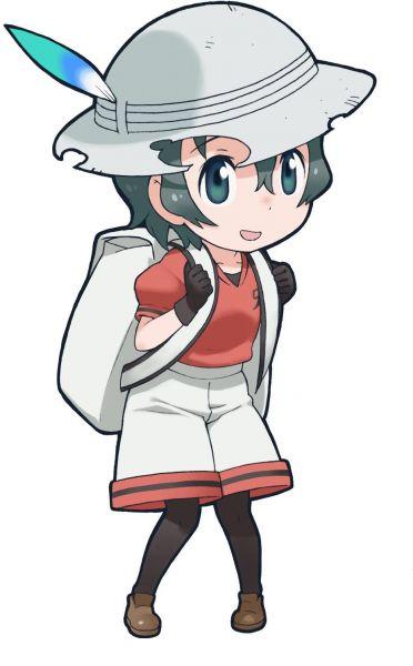アニメに登場するキャラクター「かばんちゃん」