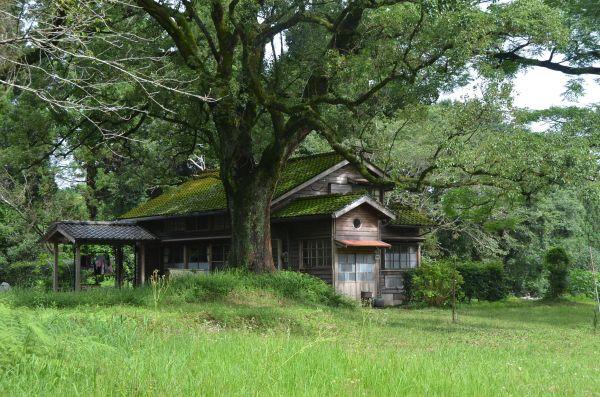 林田さんが暮らした児童養護施設があった里山