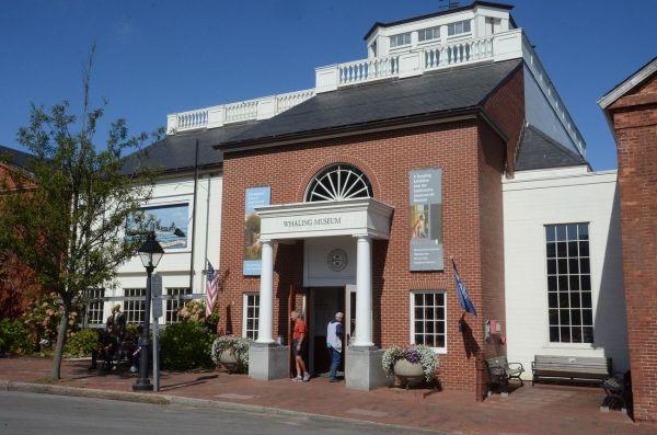 マサチューセッツ州ナンタケット島にある捕鯨博物館