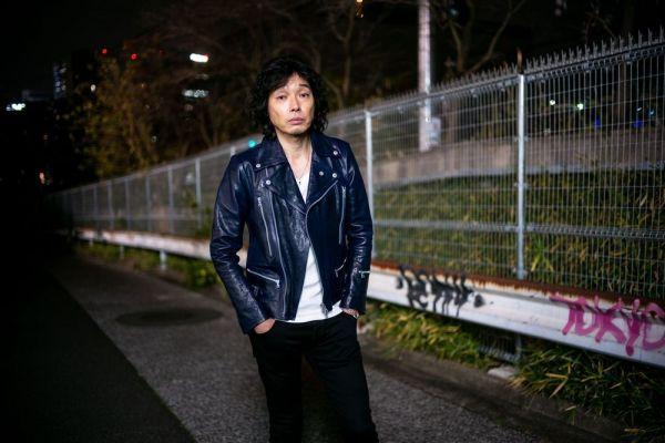 斉藤和義さん=東京都渋谷区、篠田英美撮影