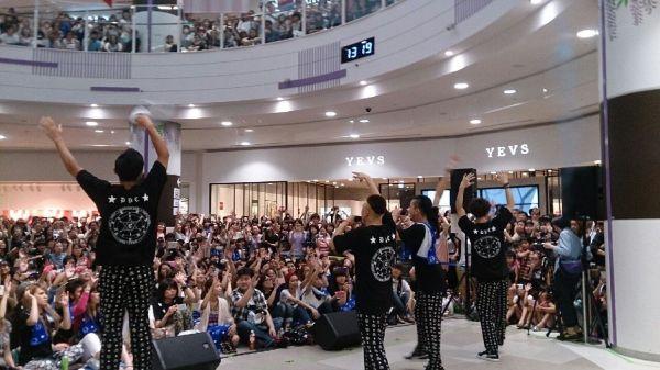2014年に行われた「DA PUMP EVOLUTION TOUR 2014」から=ライジングプロダクション提供