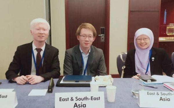 世界各地のアルビノ当事者が集う国際会議に参加した伊藤さん