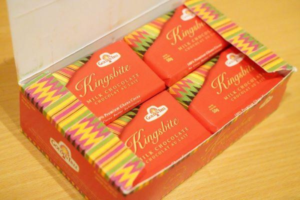 本当のガーナのチョコレート