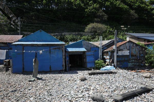 遠藤さんが高校生のときに出会ったという北海道の番屋