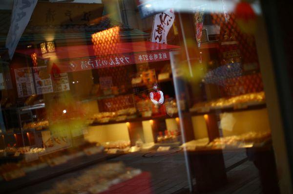 人影が少ない横浜中華街=2020年3月10日、横浜、神奈川県