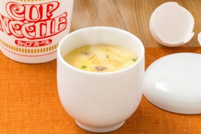 茶碗蒸し カップ ヌードル