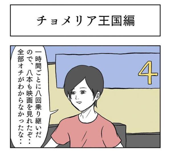 小山コータローの妄想旅行記「チョメリア王国編」