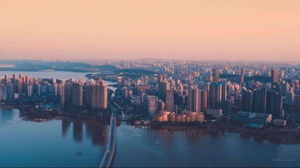 武漢市の風景