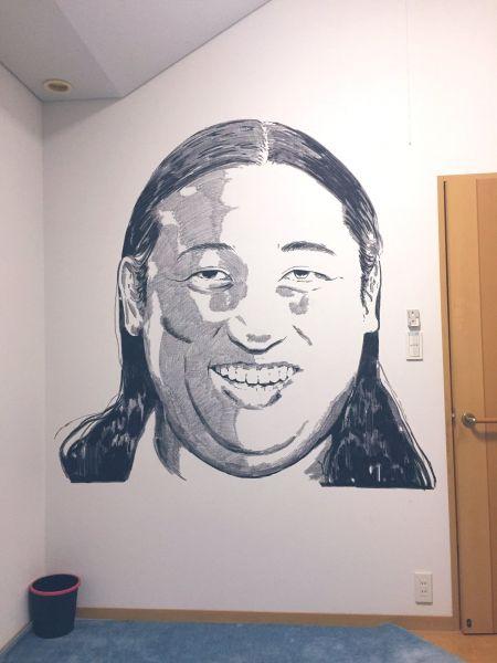 話題となったロバ―ト秋山さんの絵