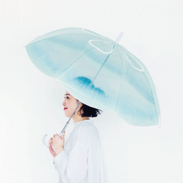 ミズクラゲがモデルのビニール傘