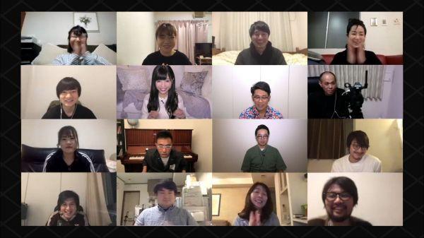 出演者以外にスタッフも、自宅からの収録にのぞんでいる「家、ついて行ってイイですか?」=テレビ東京提供