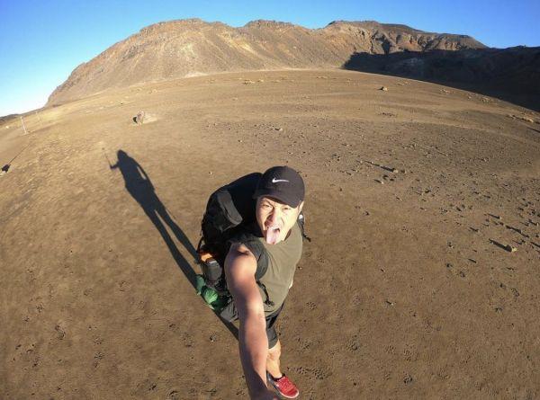 ニュージーランドのトンガリロ山