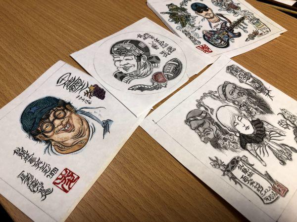 「#似顔絵100人チャレンジ」で描いた作品