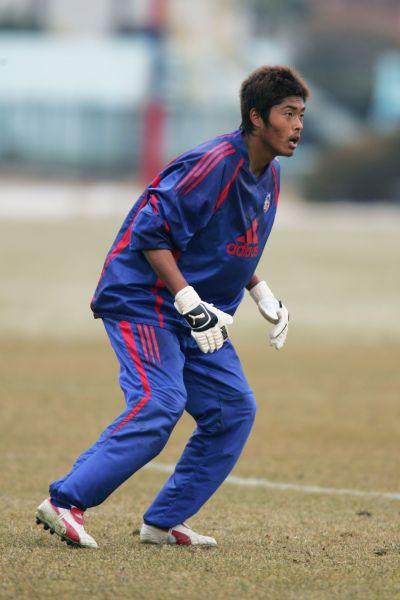 JリーグチームFC東京時代の近藤さん=ⒸKenichi ARAI