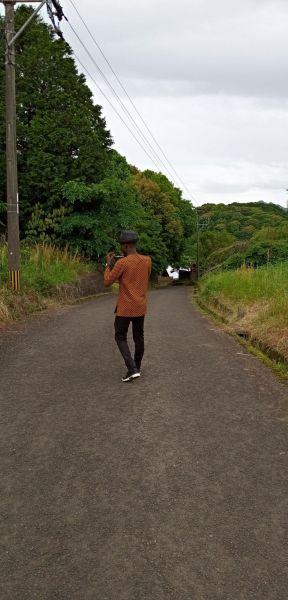「ゆがみのない道や、丈夫な建物を見ると、日本人が『今から使う人のことを考えている』ことが見える。そこが好き」とジョゼさん=佐賀
