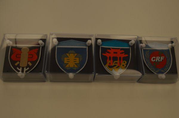陸上自衛隊/ 部隊章セット(旧デザイン)/ 開始価格3,000円→落札価格200,000円