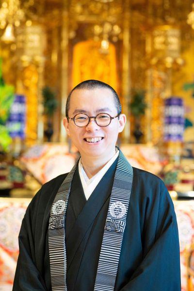 北九州市の寺院・永明寺住職の松崎智海さん