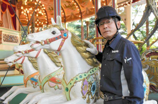 「としまえん」の遊具整備を36年間担った佐藤誠さん=2020年8月、東京都練馬区