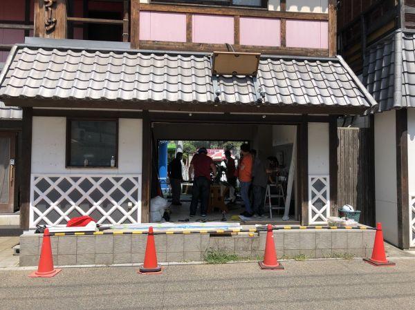 開店準備が進む浅草花やしき店