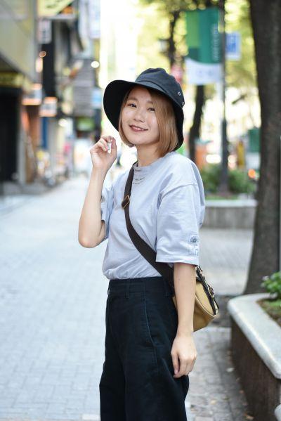 親しみのある笑顔も人気。ハラミちゃんという名前は、肉の「ハラミ」が好きなことから名付けたという=東京都渋谷区