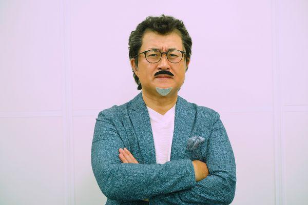吉田鋼太郎さんのものまねをする神奈月さん