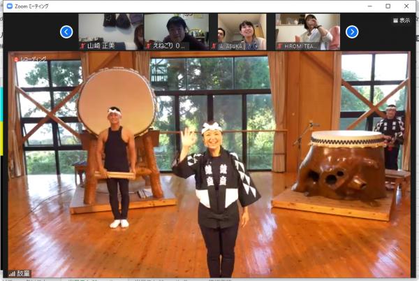 世界でも活躍する太鼓芸能集団「鼓童」