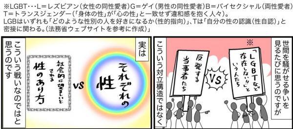 性教育に関わる描き下ろし漫画7