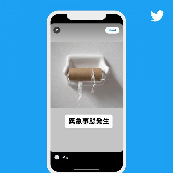 フリートのイメージ図から。ユーザーへのテストの結果、動画や画像が投稿しやすいフォーマットになっている=Twitter Japan提供