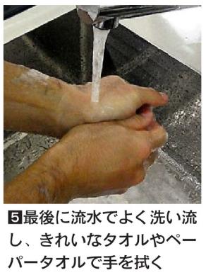 効果的な手洗い5