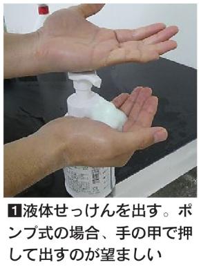 効果的な手洗い1