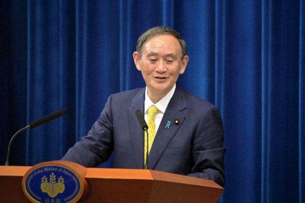 「私は、かなり(大きく)なるのではないかなというふうには思っていました」と答える菅義偉首相=2020年12月4日