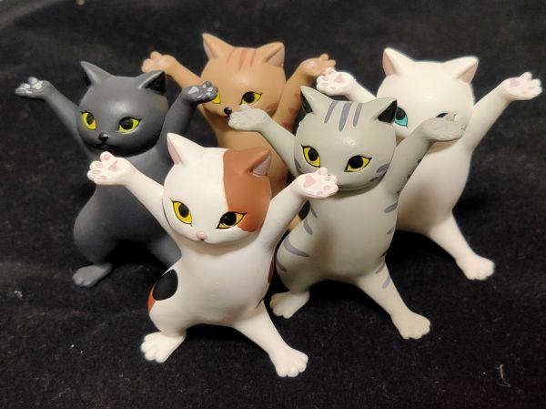 「ネコのペンおき」全5種類