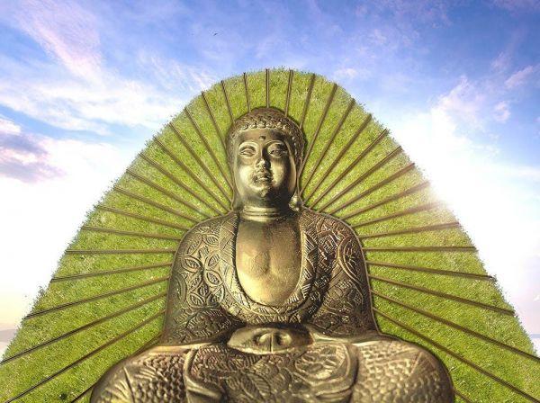 「コロナ大仏」の完成イメージ