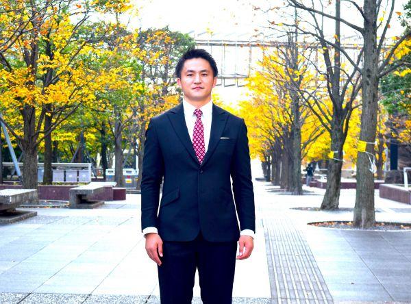 元ラグビーフットボールチーム「NECグリーンロケッツ」選手の森田洋介さん。現在はコンサルタントとして働く。