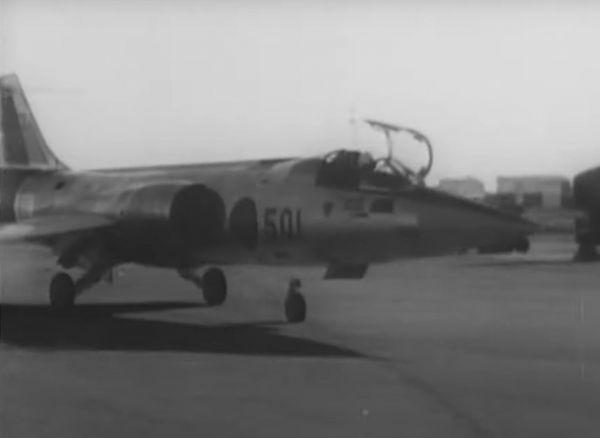 F104J戦闘機=1961年