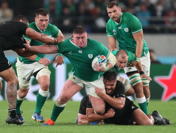 準々決勝アイルランド―ニュージーランド戦