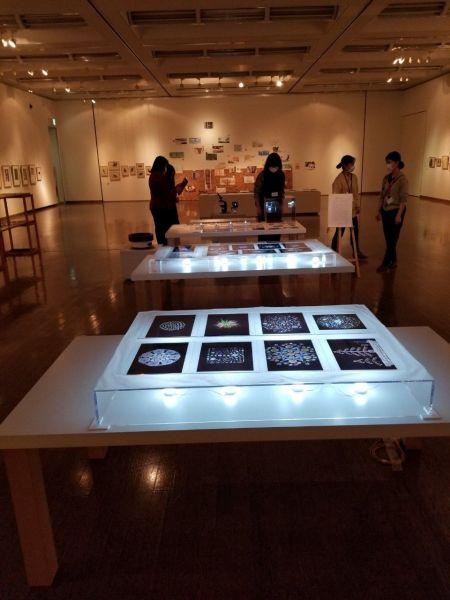 たかさき絵本フェスティバルで紹介されている、拡大した奥さんの作品