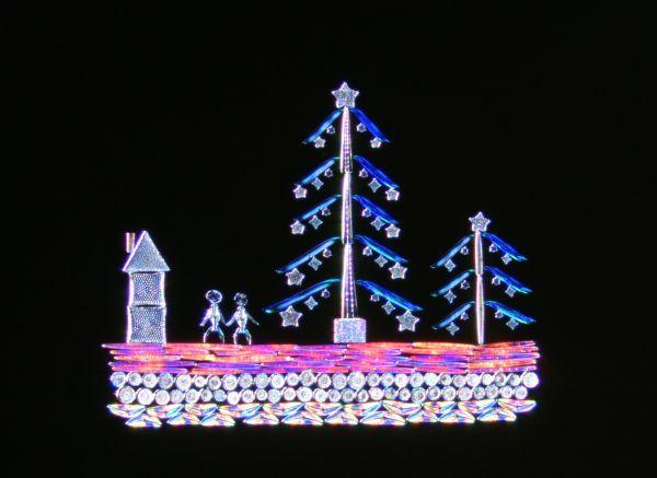 クリスマスツリーのような作品