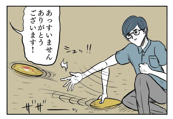 小山コータローさん(@MG_kotaro)の4コマ漫画「SUSHIBABEE」