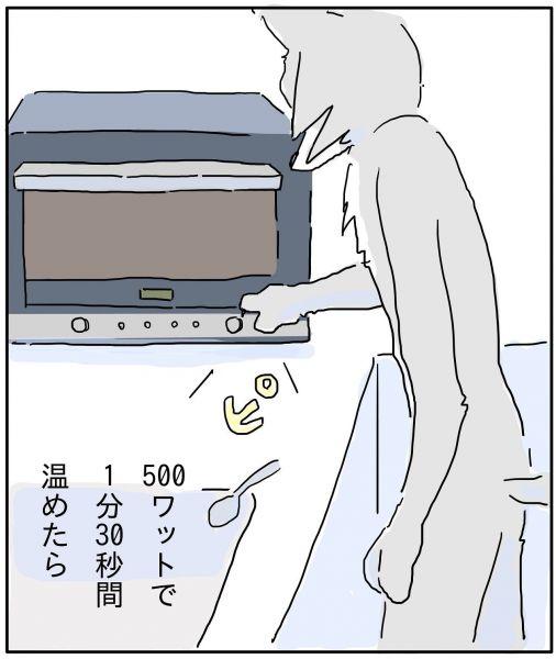 漫画「真夜中に豆腐を食べる話」
